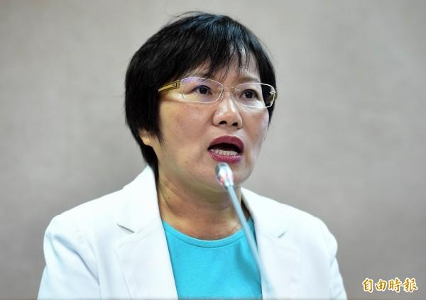 民進黨立委劉世芳今下午舉辦媒體茶敘,對於「資源多」的說法,劉世芳反駁「他們有些人做很多屆立委」,而她只當過2屆的立委,立委的起跑點也不同。(資料照,記者朱沛雄攝)