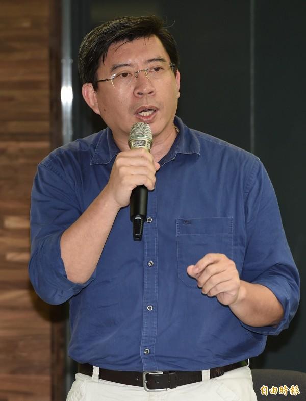 公督盟執行長張宏林表示,現在在檢視的是一個公民團體他律的指標好不好用,但立委及政黨不要忘記自律的責任。(資料照,記者廖振輝攝)