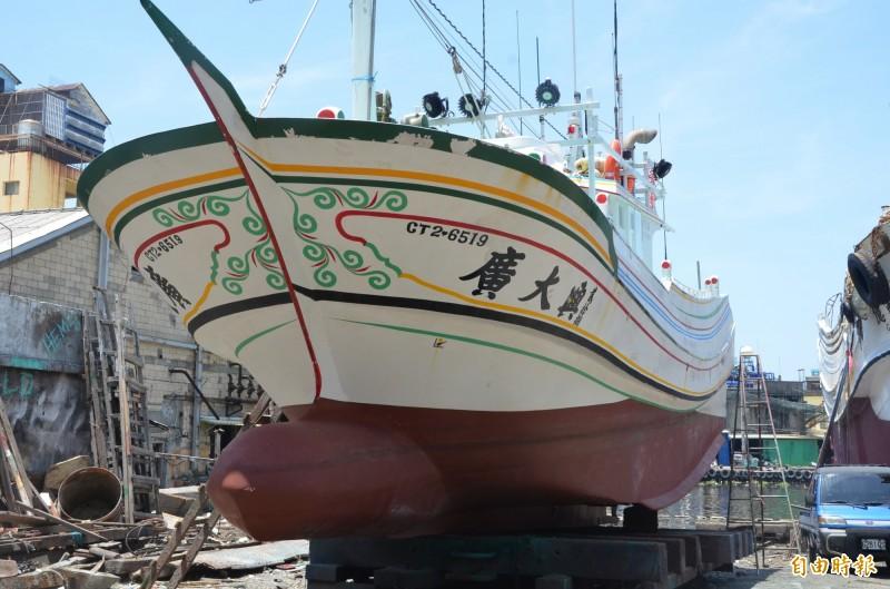 馬尼拉地區初審法院今天宣布廣大興案判決。圖為廣大興28號漁船。(資料照)