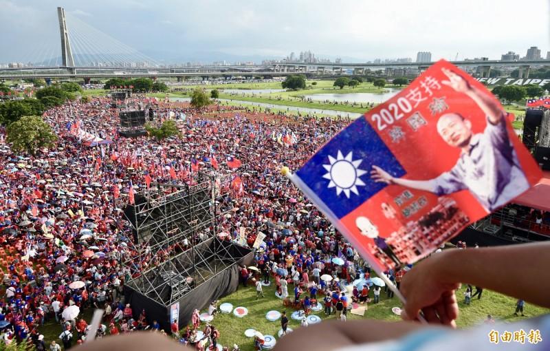 有男子號召韓粉在12月21日罷韓大遊行當天搞破壞,已被警方查出。(資料照)