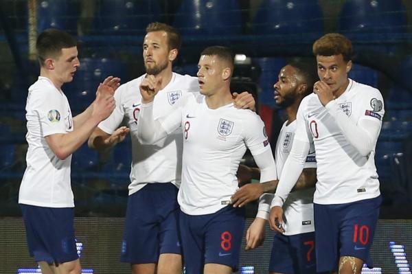 足球》巴克利梅開二度 英格蘭2戰狂轟10球