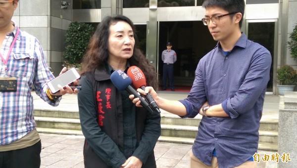 兒童權益促進協會理事長王薇君。(資料照,記者項程鎮攝)