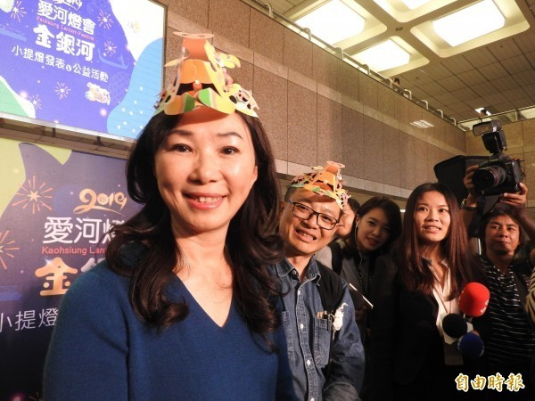 韓國瑜妻子李佳芬。(資料照)