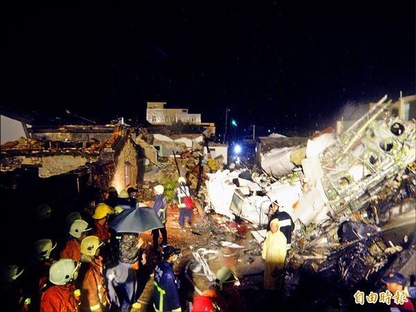 復興航空由高雄飛往馬公機場班機在湖西西溪村民宅墜落,47人罹難、16人受傷送醫。事發後,網路流傳一名飛行員的辛酸日記,引人省思。(資料照,記者劉禹慶攝)