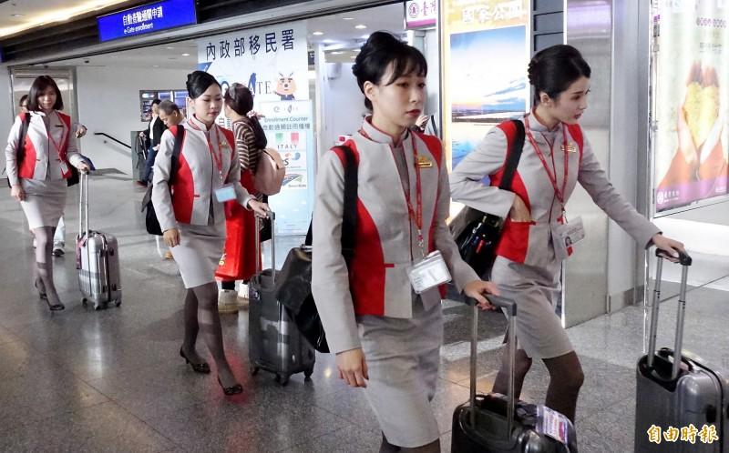 遠東航空空服員年前丟飯碗,網友激推到星宇航空「人生起飛!」(資料照)