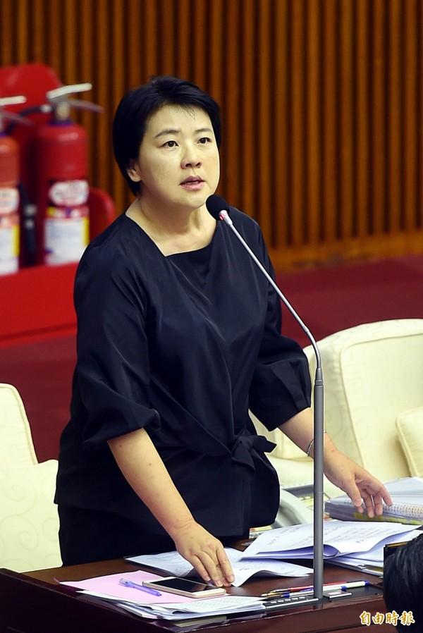 台北市議員黃珊珊。(資料照,記者方賓照攝)