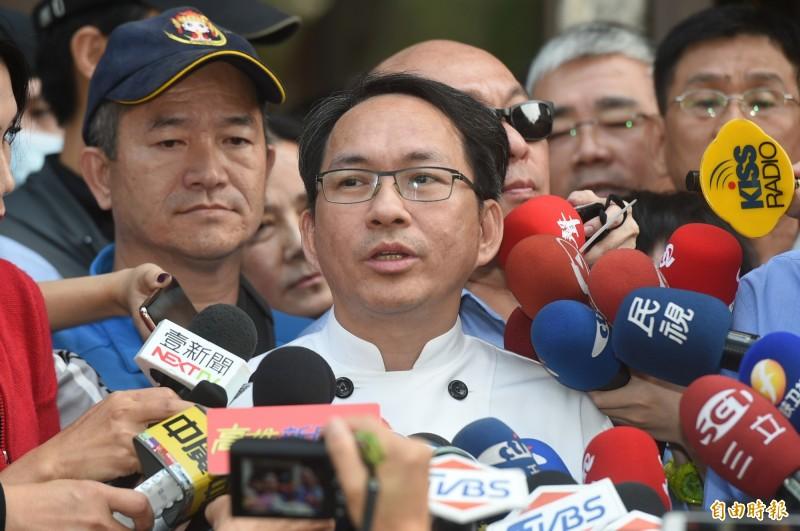 2018年底,吳寶春為了拓店上海,發出聲明表示,自己是生於「中國台灣」的麵包師,也表態支持「九二共識」。(資料照,記者張忠義攝)