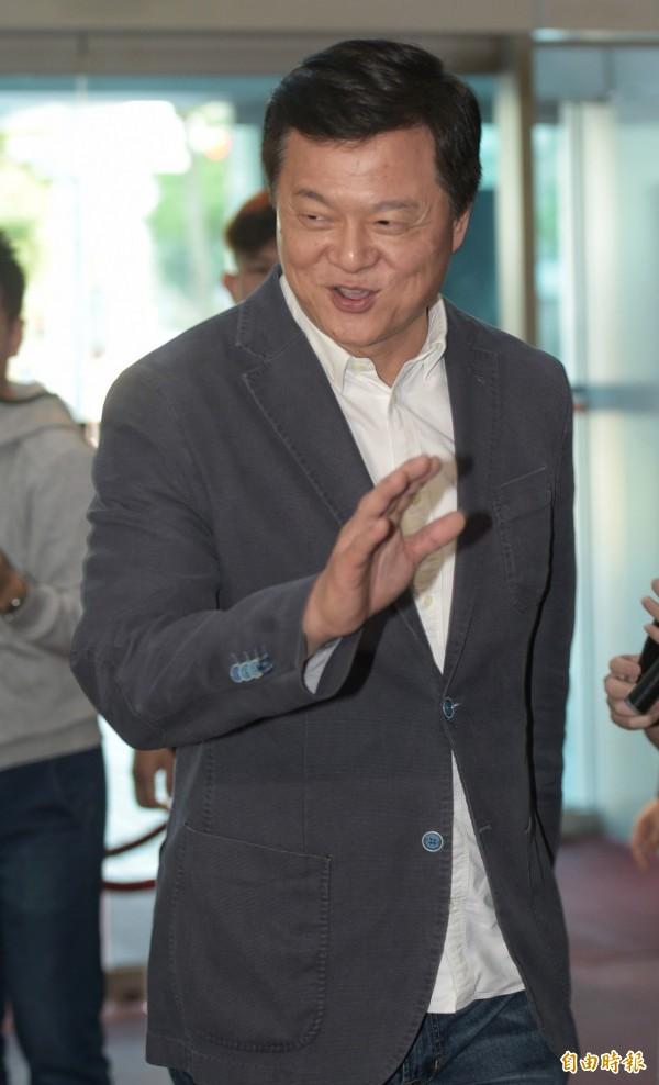 前台北縣長周錫瑋13日出席國民黨新北市長人選協調會。(記者張嘉明攝)