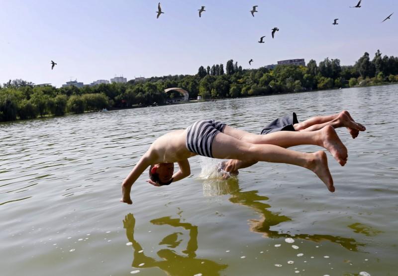 美國國家氣象局發布數據,指未來一週全美將有過半數的州出現超過35度的高溫,包含芝加哥、費城、紐約高溫更上看38度。圖為示意圖。(歐新社)
