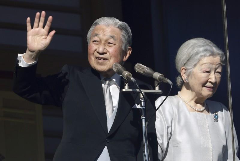 明仁天皇即將退位,新天皇5月1日即位,新年號也是眾所矚目的焦點,日本政府決定於4月1日公布新年號。(美聯社)