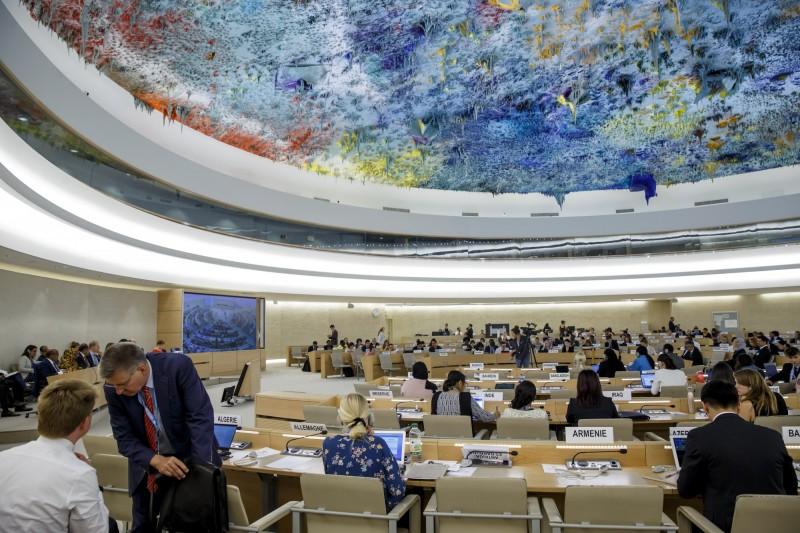 國際非營利組織「人權觀察」(HRW)表示,有22國10日發表聯合聲明,要求中國停止對新疆穆斯林進行大規模、任意的拘押。(歐新社)