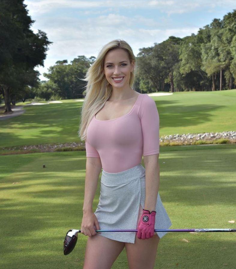 美國高爾夫球選手斯皮拉納。(照片取自Paige Spiranac IG)