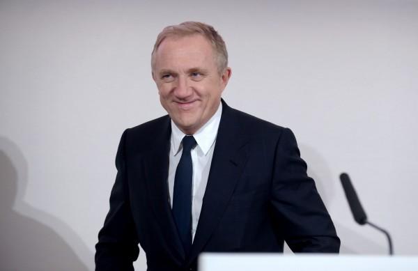 開雲集團(Kering)董事會主席兼執行長皮諾特(François-Henri Pinault)發表聲明宣布,將捐出1億歐元(約新台幣35.45億元)。(法新社資料照)