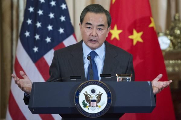 中國外交部長王毅日前在美國公開演講,以「他們自己的憲法」形容我國憲法,引發各界討論。(歐新社)