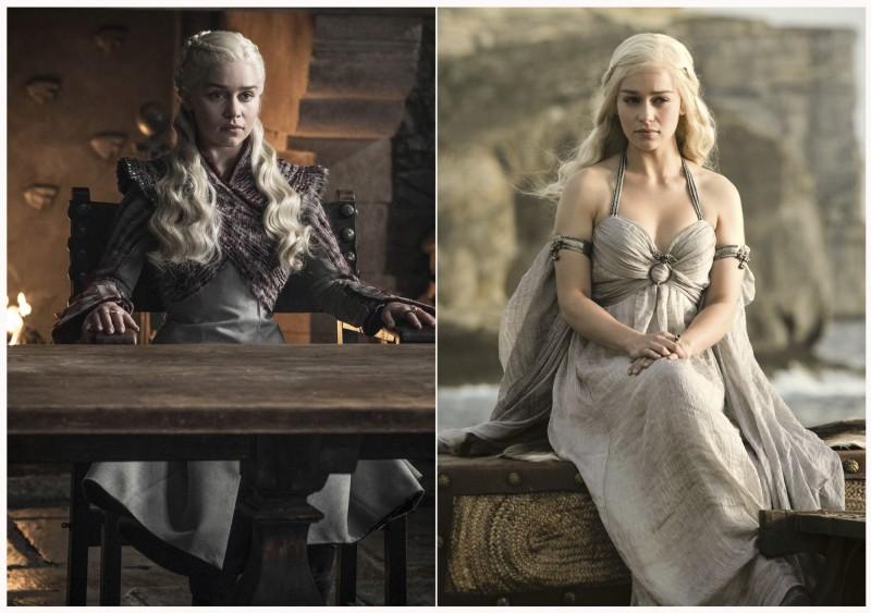 HBO奇幻影集《冰與火之歌:權力遊戲》今(20)日播出最後一集,締造出最成功電視影集之一的歷史。圖為女主角之一。(美聯社)
