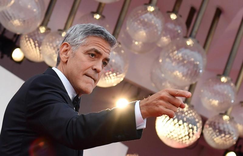 好萊塢影星喬治克隆尼(George Timothy Clooney)日前呼籲抵制汶萊政府投資的9家高級飯店。(歐新社)
