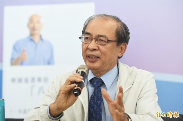 韓國瑜小內閣爆出黑馬,第三位副市長由財政部高雄國稅局副局長洪東煒(見圖)出任。(記者張忠義攝)