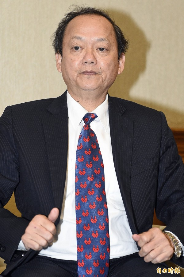 台灣血液基金會董事長葉金川辭職。(記者陳志曲攝)