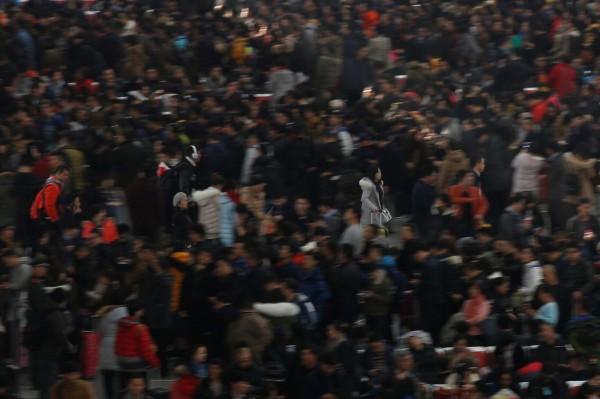 中國當局表示,春運將從本月13日開始,到2月21日才結束,預估全國的旅客發送量將達到29.78億人次。(路透)