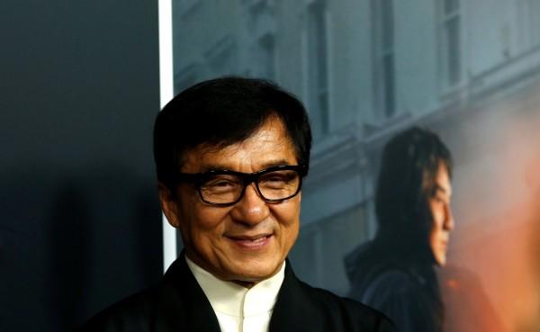 知名影星、中國政協委員成龍,與其他30多名政協委員共同遞交「制定保護國格與民族尊嚴專門法」的提案。(路透資料照)