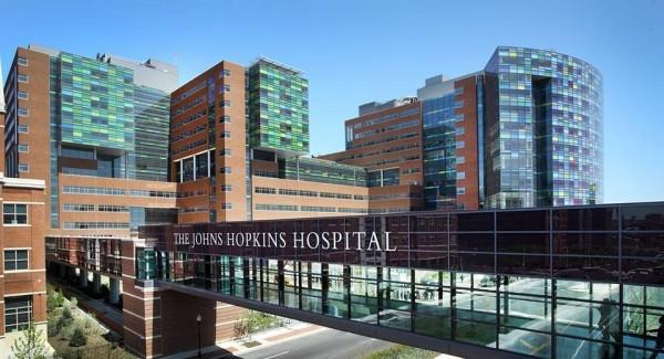 約翰霍普金斯大學否認暫停邀請非美籍訪問學者。圖為約翰霍普金斯醫院(圖片取自臉書)