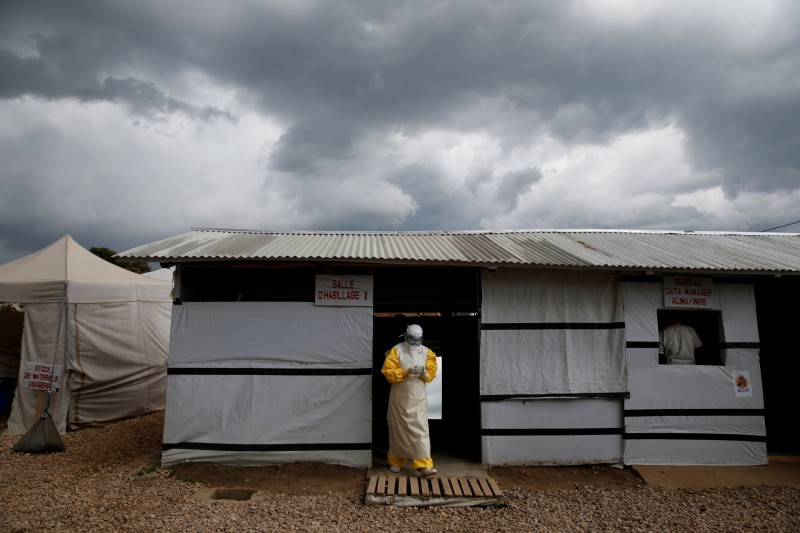 伊波拉疫情侵襲剛果民主共和國(RDC)將近10個月,截至週日(23日)已經造成超過1500人死亡。(路透)