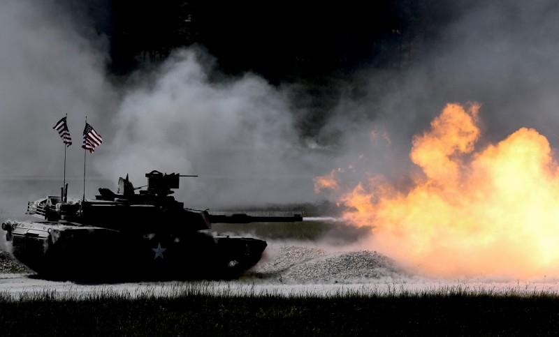 美國國務院8日宣布對台軍售M1A2T艾布蘭戰車及人攜式刺針防空飛彈等項目,總額超過27億美元。(歐新社資料照)