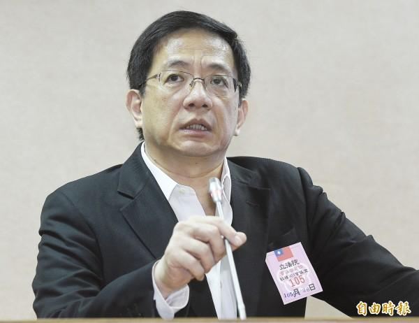 陸委會今(22)日表示,管中閔自2005年來有28件赴中申請案。(資料照)