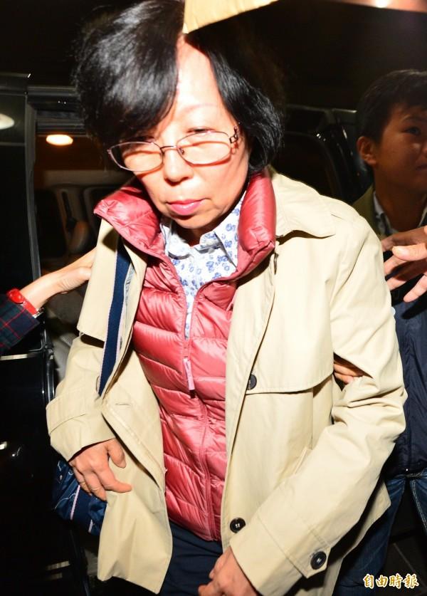國產集團總裁林孝信的弟媳林鄭珊珊。(資料照,記者王藝菘攝)