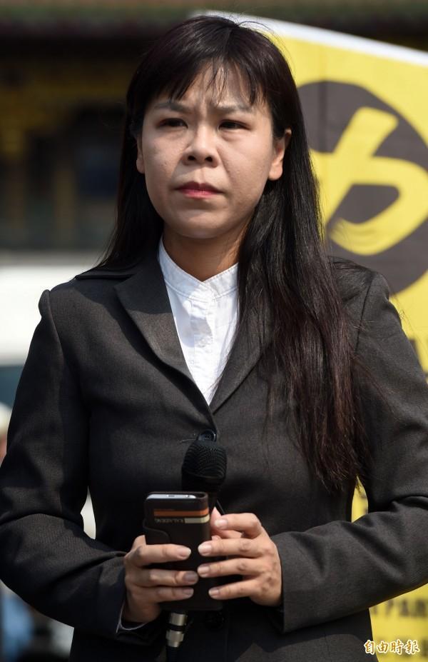 日前宣布代表時代力量參加台中市北屯區立委選舉的律師柯劭臻,在臉書貼文,希望能號召千人發起訴願,反對中科擴廠一案。(資料照,記者王敏為攝)