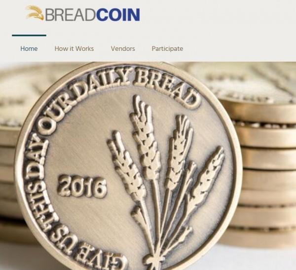 華盛頓特區中央聯合團發出約2800枚麵包幣助貧。(圖擷自breadcoin官網)