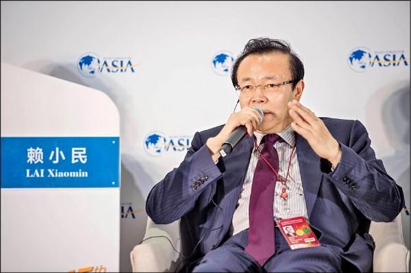 中國金融巨貪、前華融資產管理公司董事長賴小民,近日遭天津市人民檢察院第二分院,以涉嫌受賄、貪汙、重婚罪向他提起公訴。(法新社)