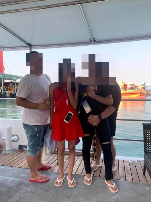 網友爆料4人去年到小琉球旅遊,積欠民宿老闆上萬元。(圖翻攝自爆料公社)