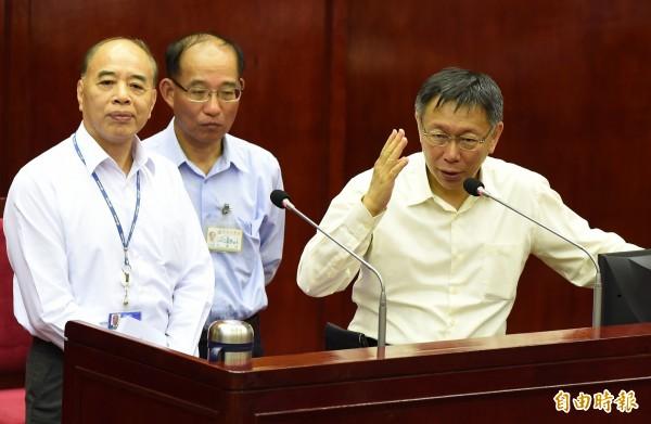 台北捷運公司總經理顏邦傑(左)。(資料照,記者簡榮豐攝)
