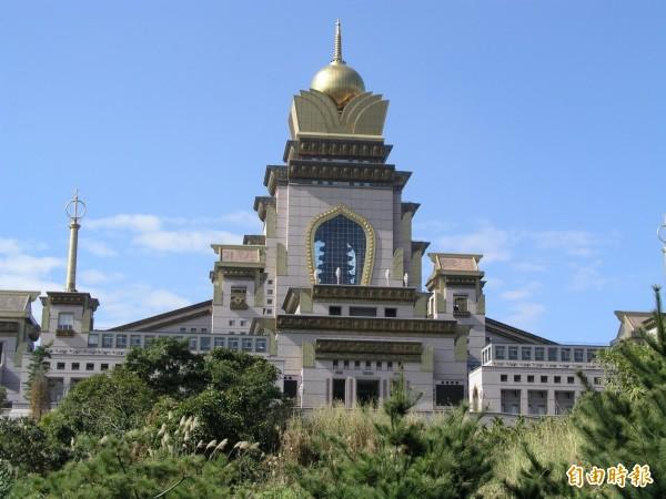 中台禪寺為國內最大的佛教禪宗道場。(資料照,記者佟振國攝)