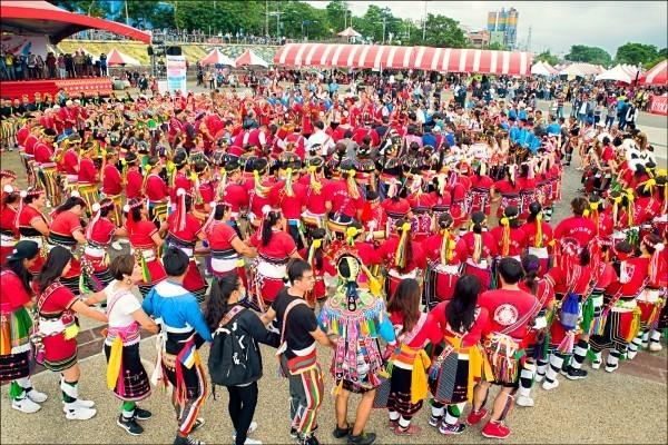 8月1日原住民族日,很多地方都有相關活動。(原民會提供)