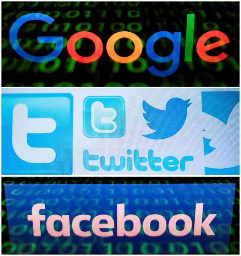 中國在臉書及推特上大舉操作,但這兩大平台在中國卻是被禁止的。(法新社)