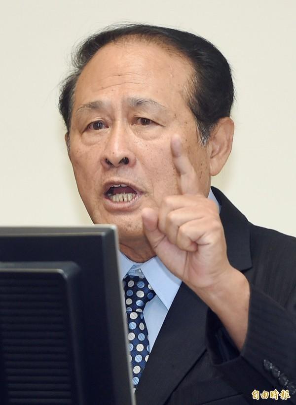 農委會主委曹啟鴻。(資料照,記者廖振輝攝)