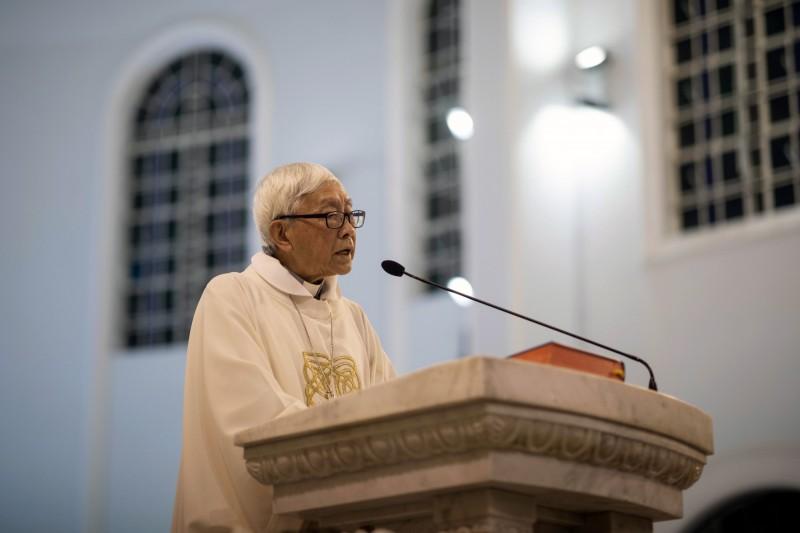 天主教香港教區榮休主教陳日君樞機和各界組織今天發表聯合聲明,呼籲成立獨立調查委員會。圖為資料照。(歐新社)