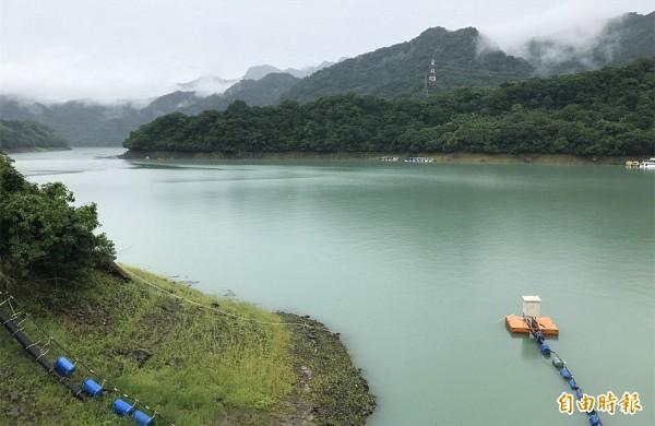 瑪莉亞颱風帶來帶來約9000萬噸雨水,石門水庫解渴、水情恢復正常。(資料照)