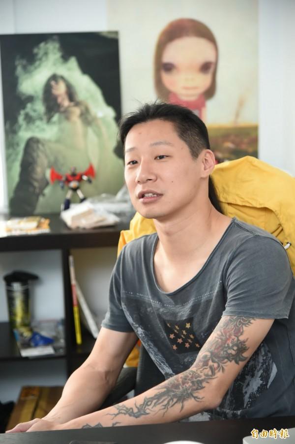 《閃靈》樂團主唱Freddy林昶佐說,他在高中畢業那年大哭一場,覺得人生被政府偷走18年(資料照,記者胡舜翔攝)
