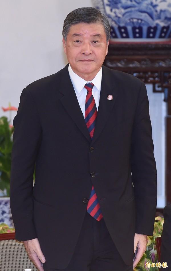 今日總統府准辭的官員包括國安會秘書長高華柱。(資料照,記者廖振輝攝)