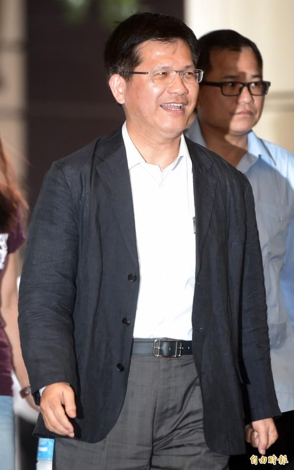 林佳龍表示,他支持同性婚姻,因為所有性向的人都有相愛成家的權利。(資料照,記者簡榮豐攝)