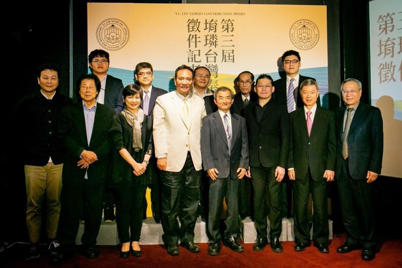 第三屆「堉璘台灣奉獻獎」本月初至6月底展開徵件,將頒出3千萬元獎金,鼓勵默默替台灣奉獻的個人或團體。(林堉璘宏泰教育基金會提供)
