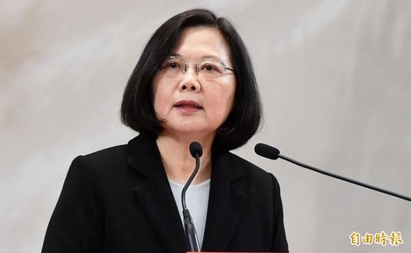 英國牛津大學國際關係博士汪浩提議總統蔡英文(見圖),可以提出「台灣主權三段論」對抗中國,發展簡單金句讓台灣老百姓記得住。(記者朱沛雄攝)