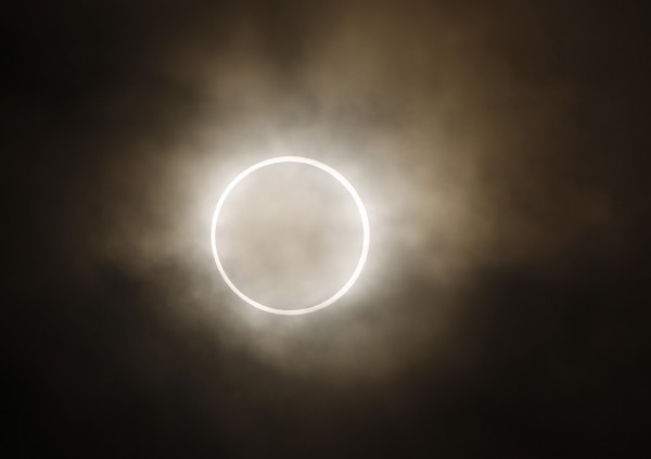 英國本週五將出現日全蝕難得景象。(美聯社)