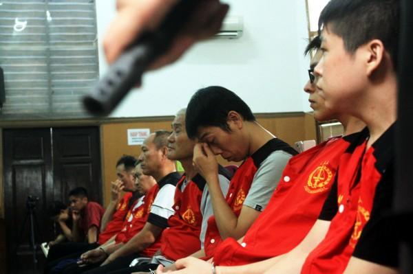 印尼法院今(26)日判決,8名台灣籍毒品走私販處死刑。(法新社)