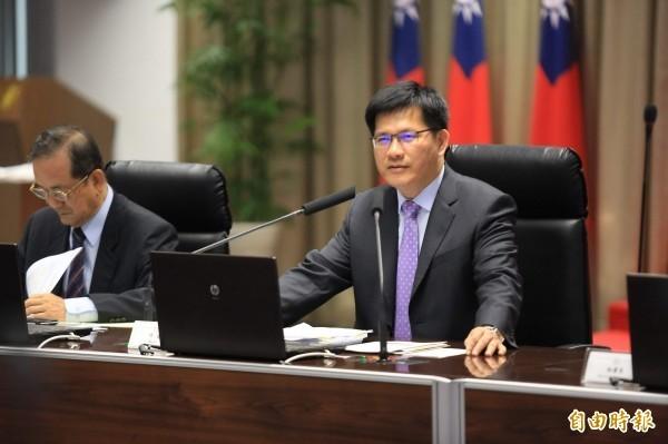 林佳龍今天點頭答應接下交通部長職位。(資料照)