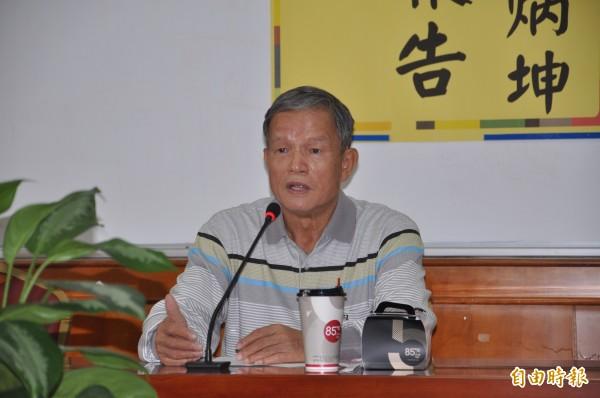 苗栗市長邱炳坤。(資料照)