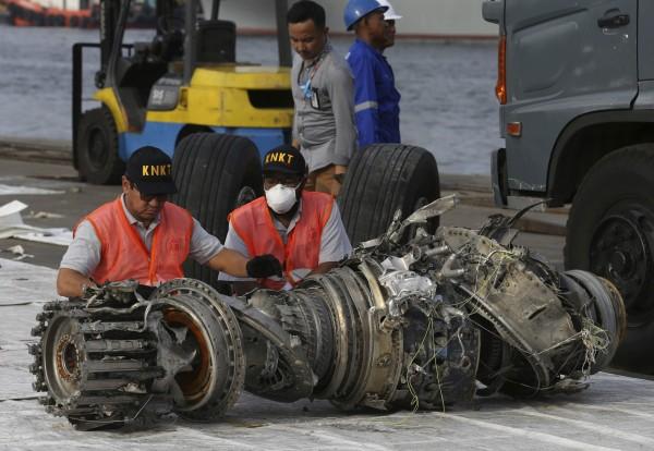 上月29日,印尼獅子航空(Lion Air)一架波音737 MAX8客機,墜毀在爪哇島外海,機上189名乘客無人生還。(美聯社)